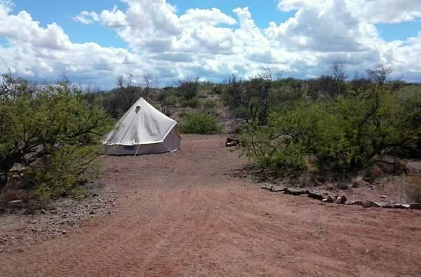 Your private camp site