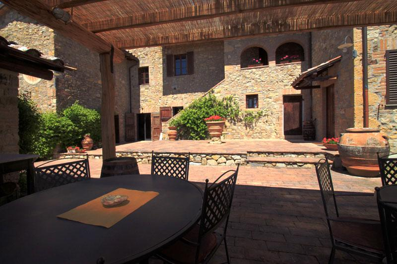 GRANAIO an indipendent apartment in Tuscany between Florence and Siena, vakantiewoning in Poggibonsi