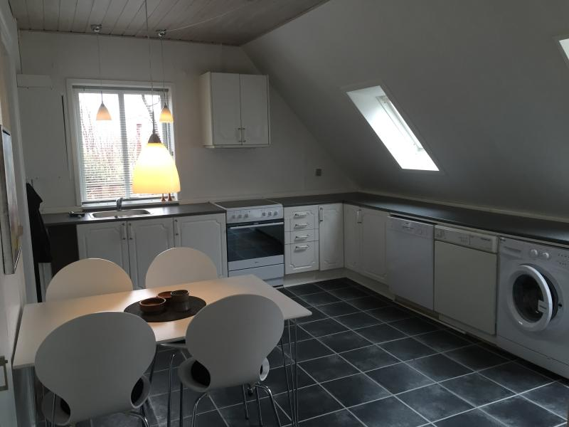 Nice, large kitchen, complete with cooking equipment
