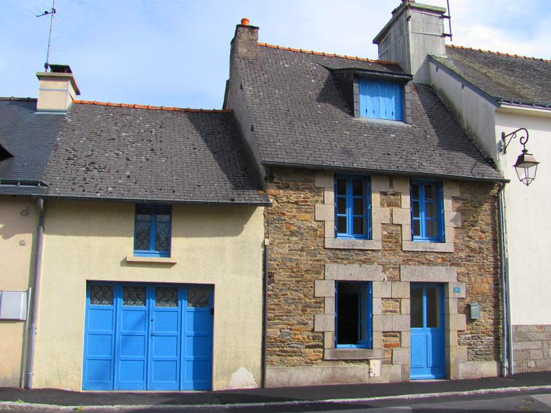 Maison Bleue, Josselin, France - Typical Brenton house, build in 1910.