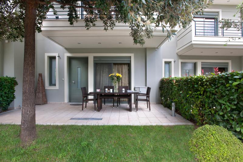 Mando Luxury Resort, Hebe Villa, vacation rental in Porto Rafti