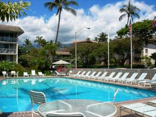 Take a refreshing swim in our large pool.