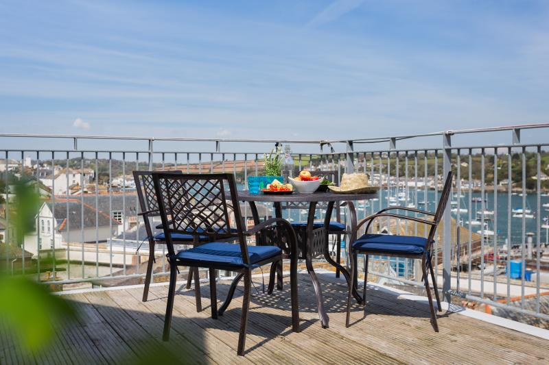 The perfect place for breakfast, evening drinks or simply sunning yourself!