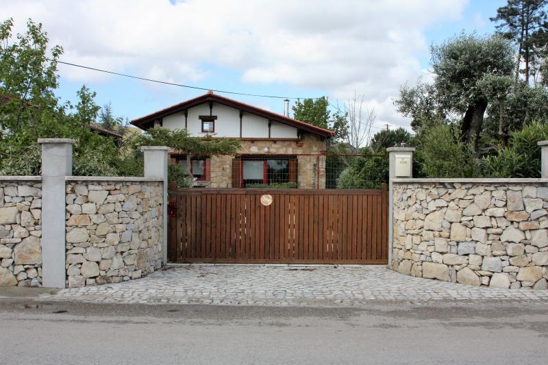 Entrance gate, walled garden
