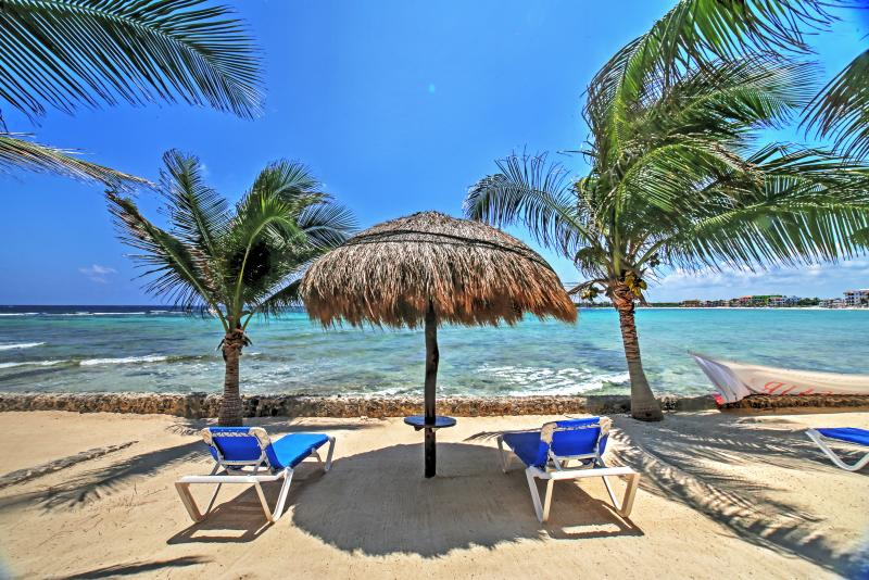 Sip an ice cold Corona as you lounge on the serene private beach.