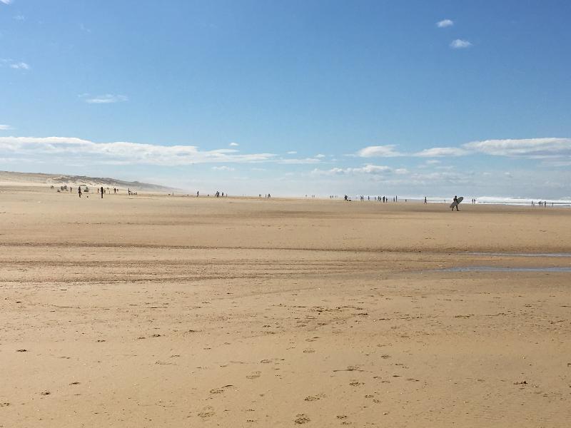 Moliets beach 800 metres away