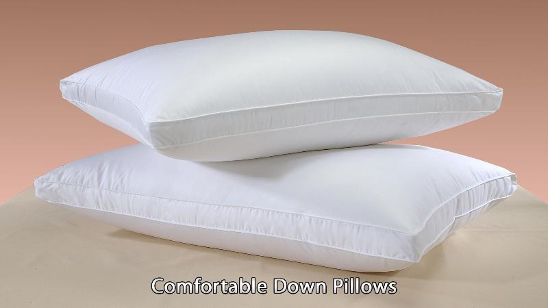 Comfortable Down Pillows