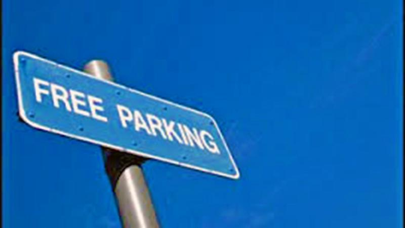 Complimentary Free Parking