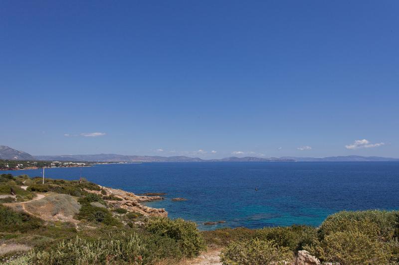 Beautiful View to Evia.