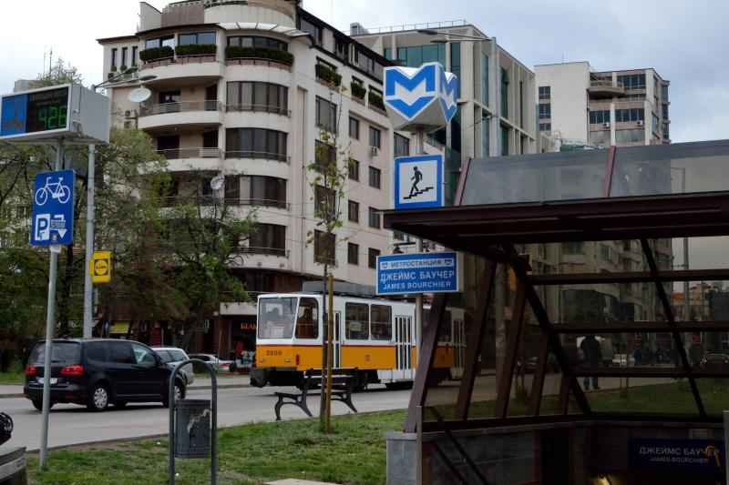 Subway and tram station - 200m away. Two stops and 5 min. to the city center.