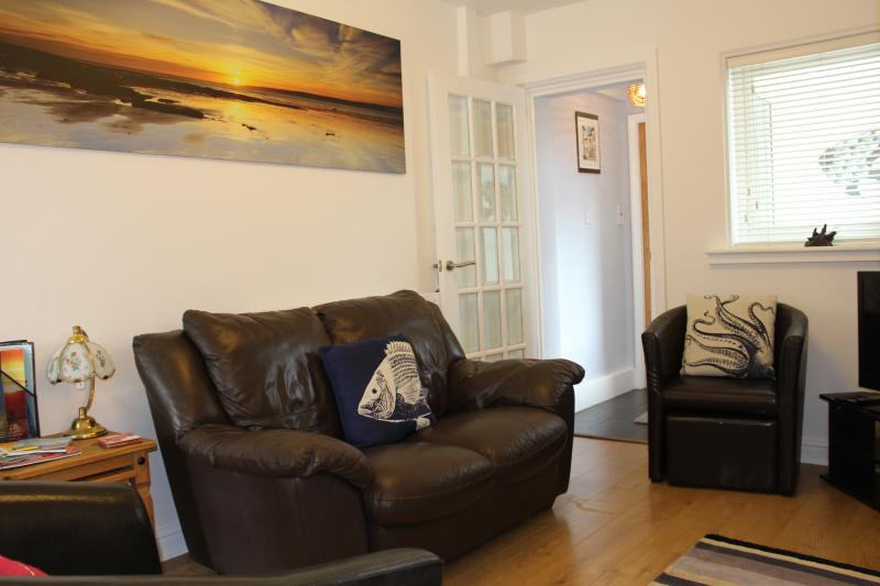 Cosy lounge with 32' L.G. T.V. with Freeview,  Freesat box and complimentary wifi.