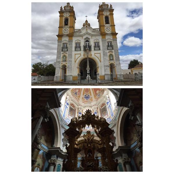 igreja nossa senhora d'aires em viana do alentejo