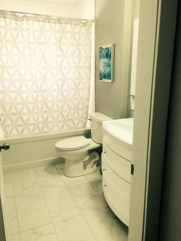 nível homem casa de banho completa