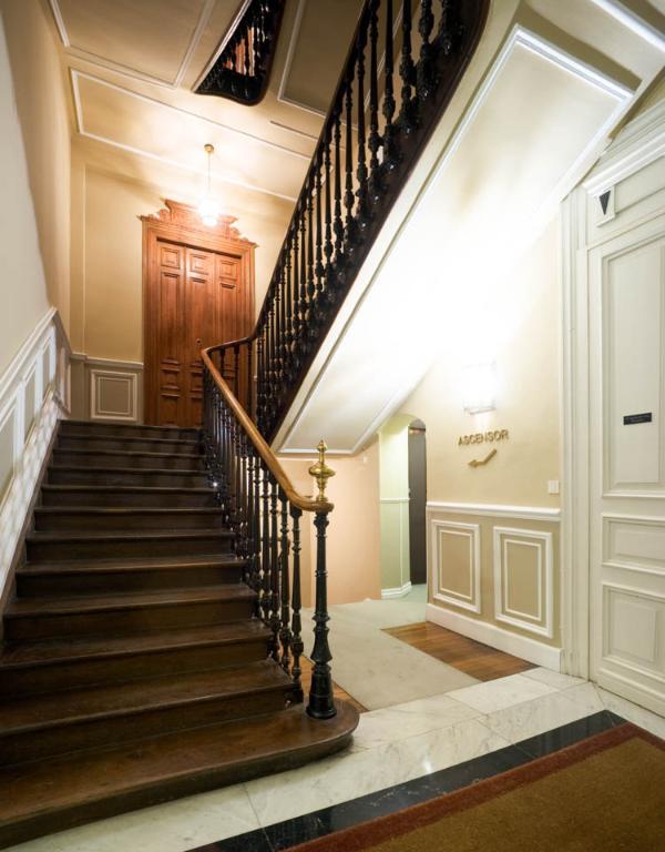 frontdoor of apartments