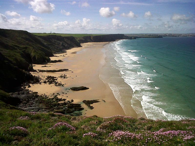 The stunning Watergate Bay