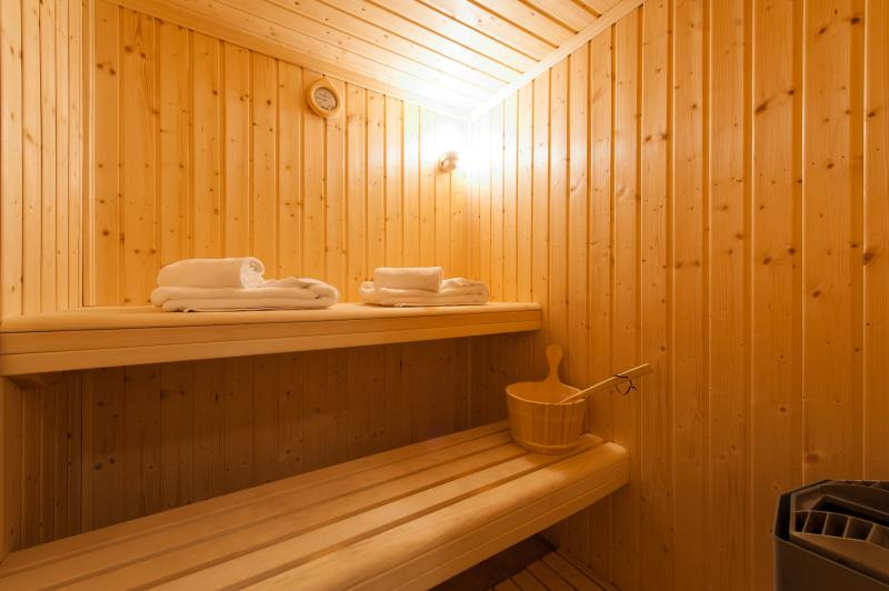 The sauna is the perfect place to relax & warm up after a day on the pistes!
