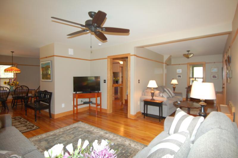 Living Room and Sleeper Sofa Area