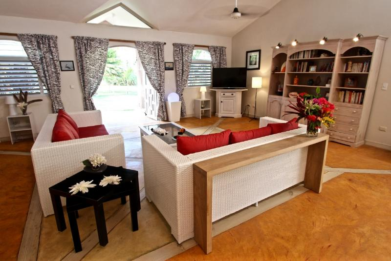 Indoor salon