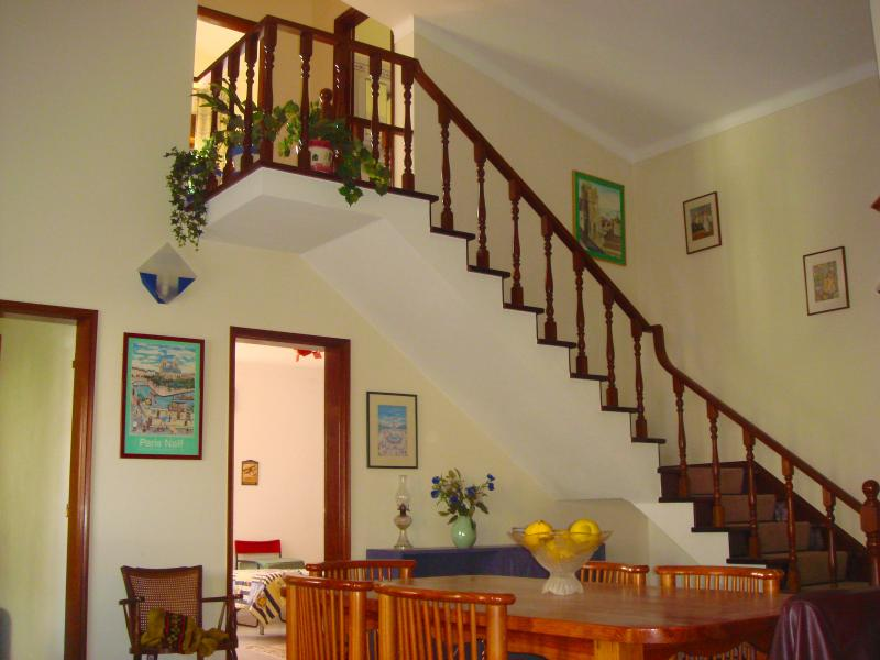 Open area and stairs