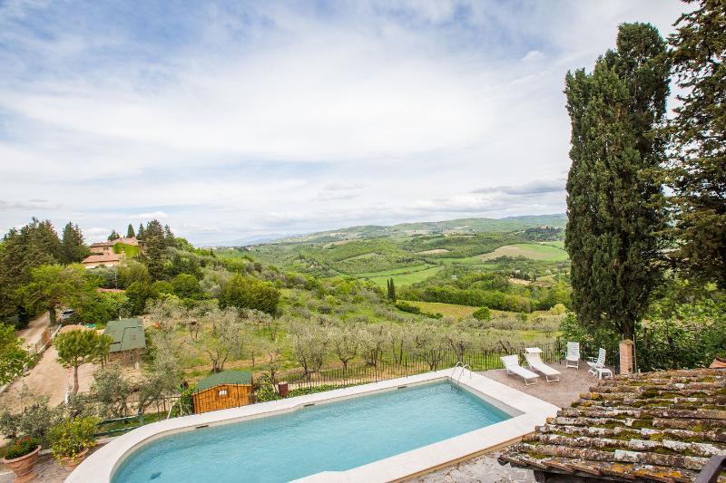 La Vite Agriturismo La Villa Romita, holiday rental in Tavarnelle Val di Pesa