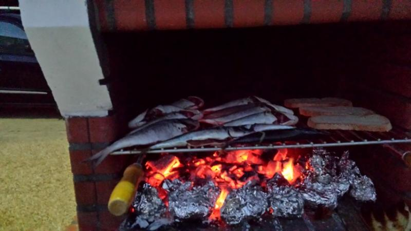 Don't miss out on the grilled sardines!