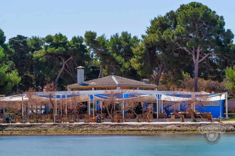 Famous Beach Bar &  Grill is 200 m away and placed next to the sandy beach