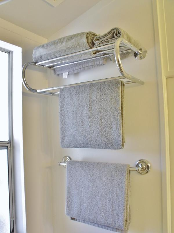 Ample fresh towels provided daily.