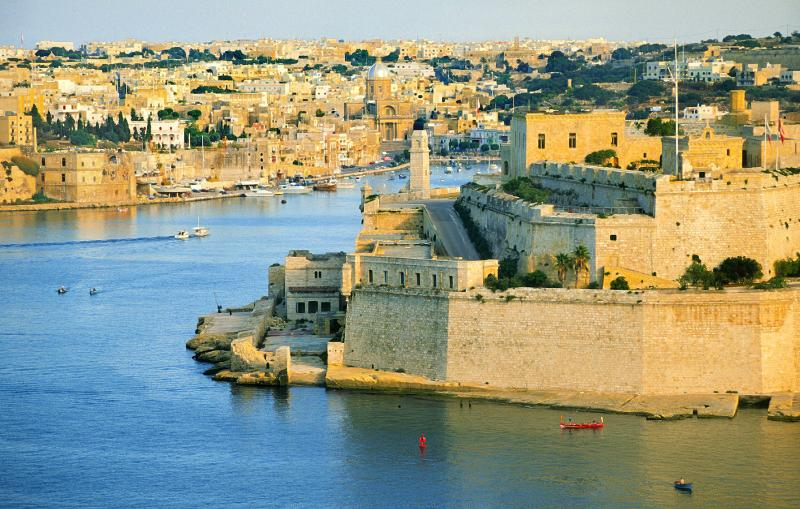 Majestic fortified capital of Valletta