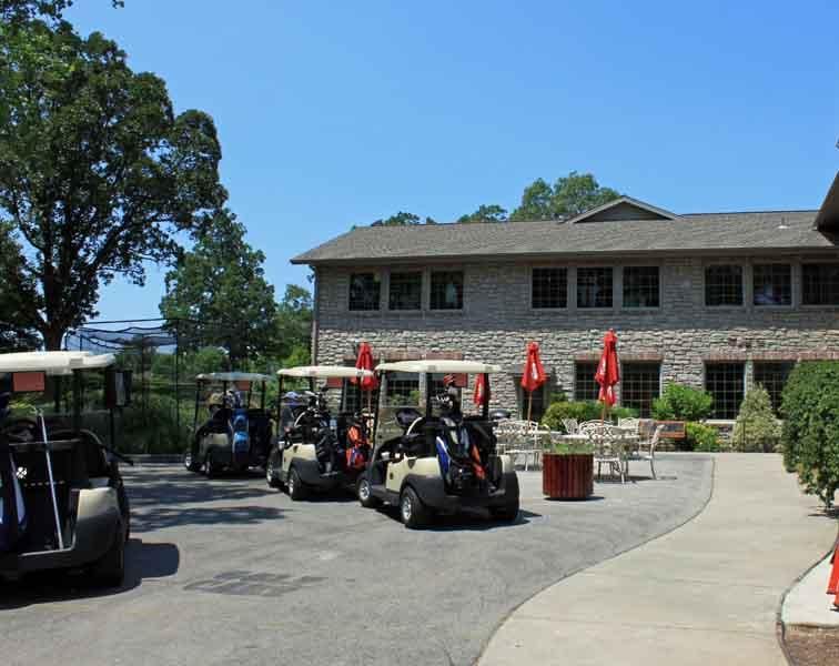 PGA Golf Course.  Guests get a discount off green fees for staying in the complex.