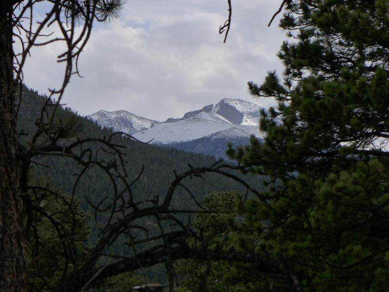 Longs Peak view from the house