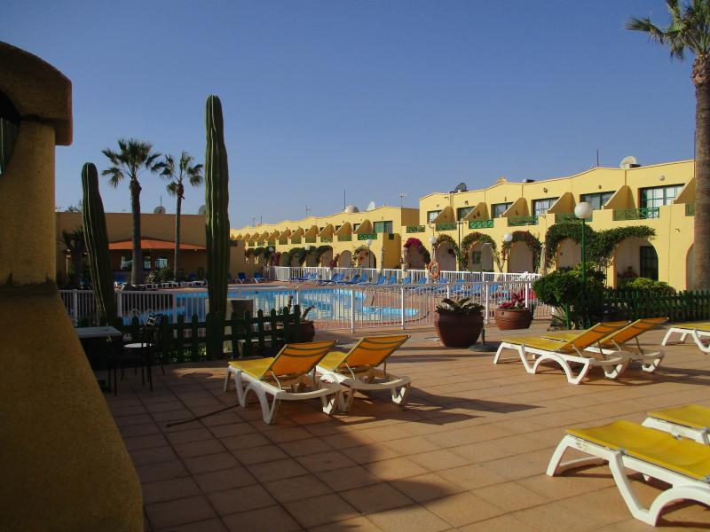 Sun beds near Swimming Pool