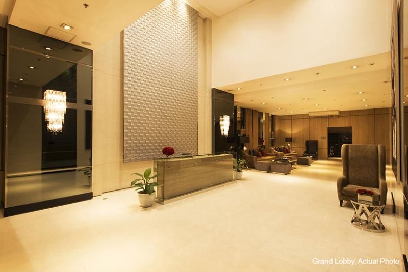Grand lobby, 24-hour security