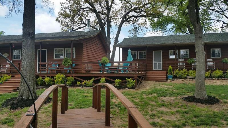 Cottage With Open Floor Plan And Great View!!, casa vacanza a Muskogee