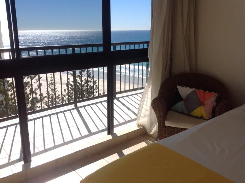 Great ocean views from all rooms within the apartment.