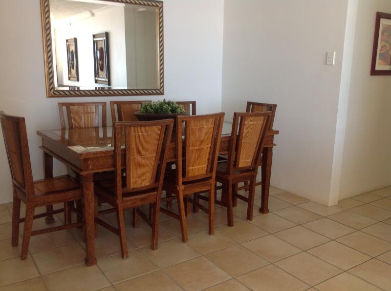 Dining area to enjoy your family meal or read the newspaper in the mornings.