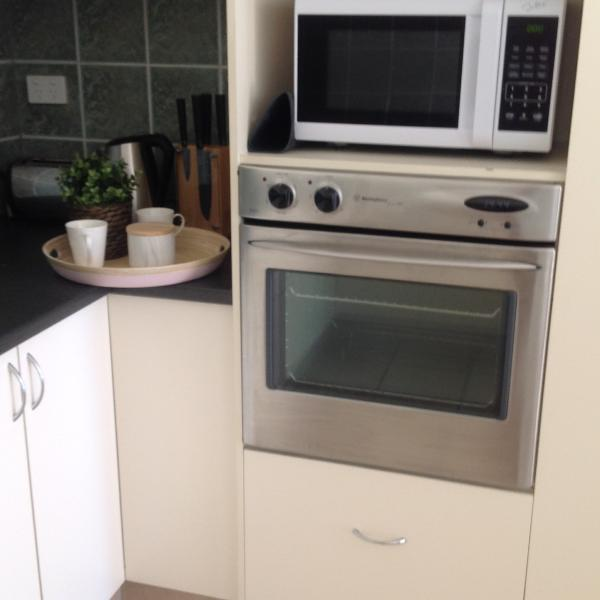 Oven and microwave are provided.