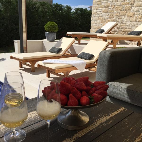 Lux villa 4 bedroom with pool, vacation rental in Cervar Porat