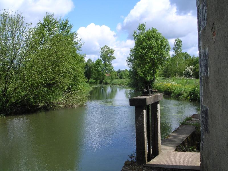 La Bonnieure river