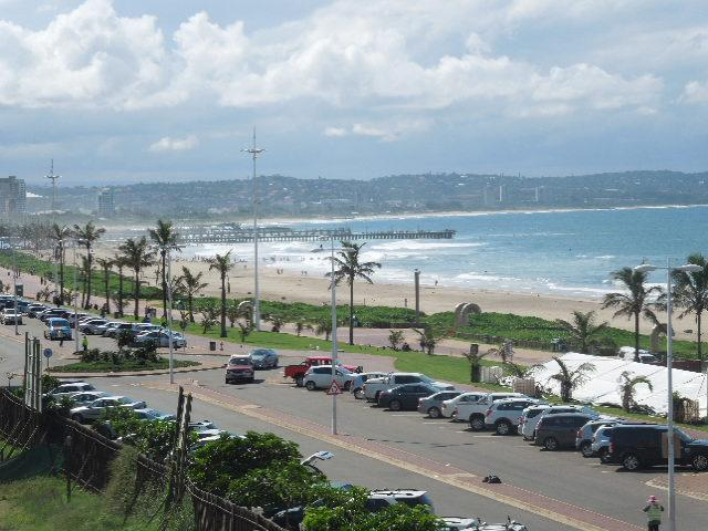 Sea view from Sunny Studio Durban