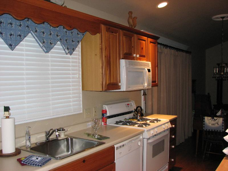Cooking if your want to! - Gas Range-Microwave-Dishwasher -  Undercounter Refrigerator-Coffee Brewer