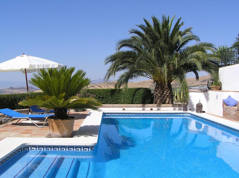 Der Pool zum entspannen