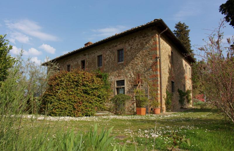 Stunning villa in in Chianti with pool, L'Iris, holiday rental in Ponte Agli Stolli