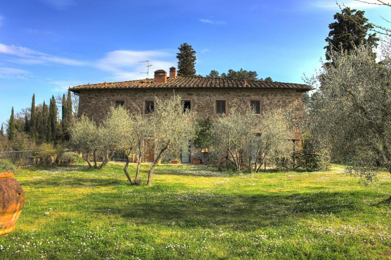 Stunning villa in in Chianti with pool, Le Camelie, holiday rental in Ponte Agli Stolli