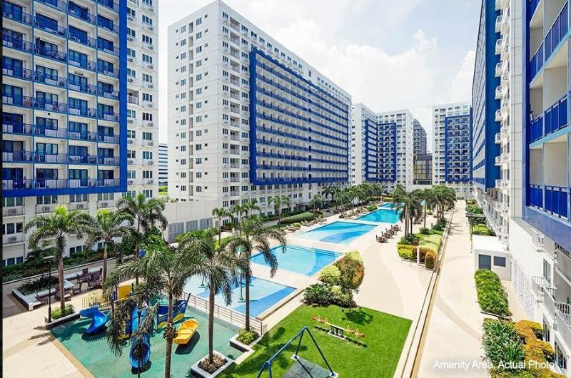 Furnished Condo at Sea Residences, Mall of Asia, holiday rental in Makati