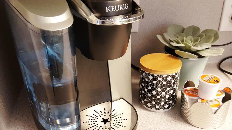 Keurig Coffee Maker (a few K-Cups provided)