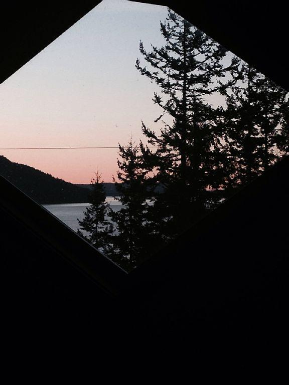 View of Sunrise from Bedroom Loft