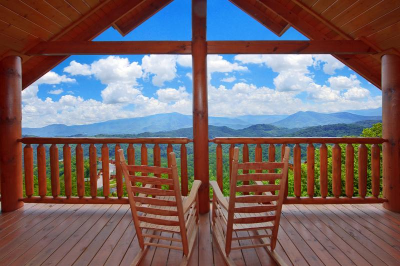 Stunning views from Master Bedroom private Deck