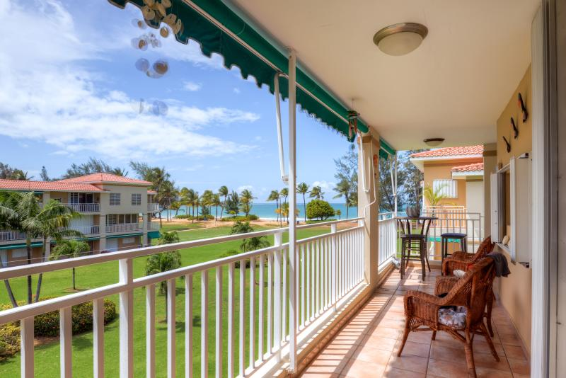 Enjoy beach access and beautiful ocean views from the balcony of this wonderful Rio Grande vacation rental condo!