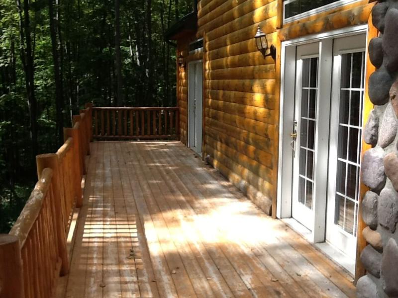 Deck in the back