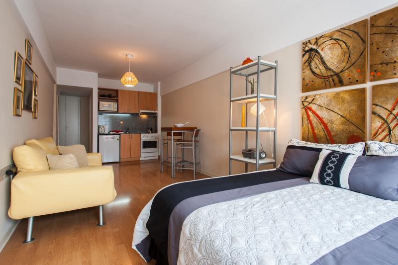Living room, Master Bedroom & Kitchen view